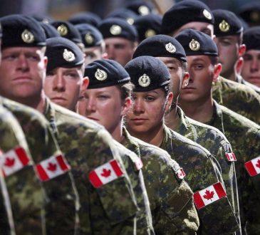 L'armée canadienne devra travailler fort pour atteindre son objectif de recrutement
